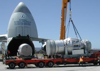 Gas Turbine Relocation